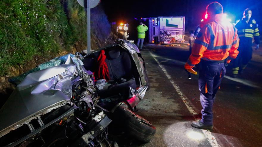 El verano deja tres fallecidos en las carreteras de Pontevedra, un 66% menos que en 2020