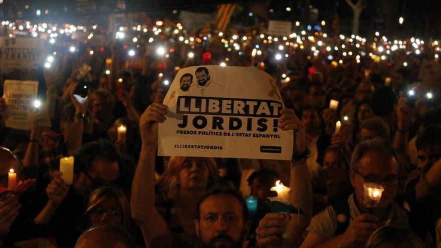 Amnistia Internacional exigeix l'alliberament «immediat» de Sànchez i Cuixart