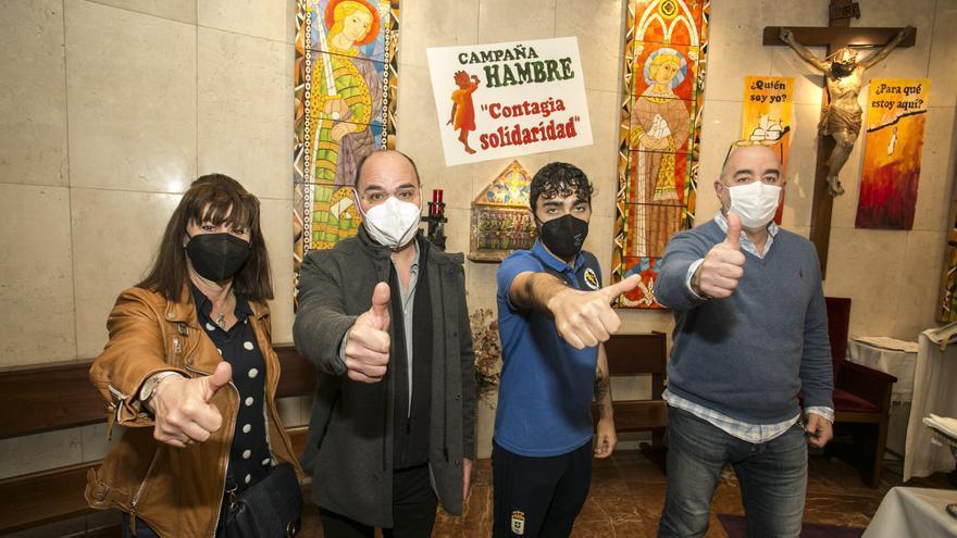 Así fue la entrega de los premios de la carrera solidaria contra el hambre organizada por la parroquia de Nuestra Señora de Covadonga de Oviedo