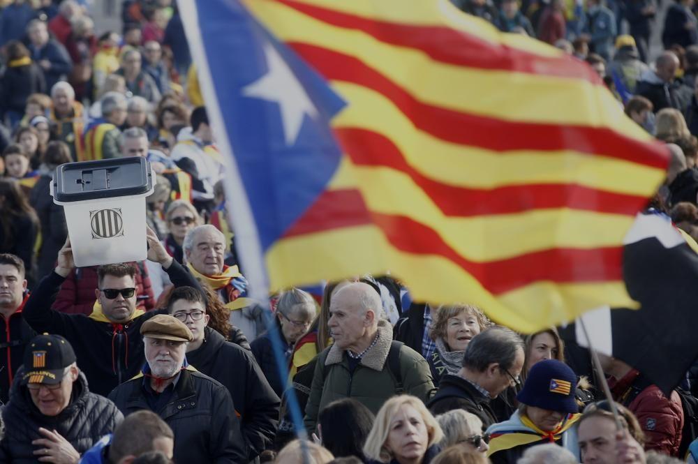 Acte de Carles Puigdemont a Perpinyà
