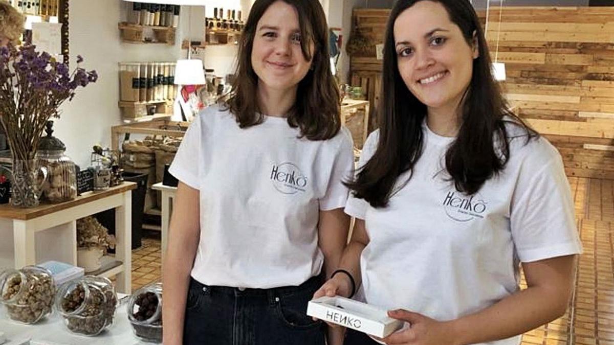 Las dos fundadoras del proyecto impulsado por el Parque Científico de la UMH de Elche.