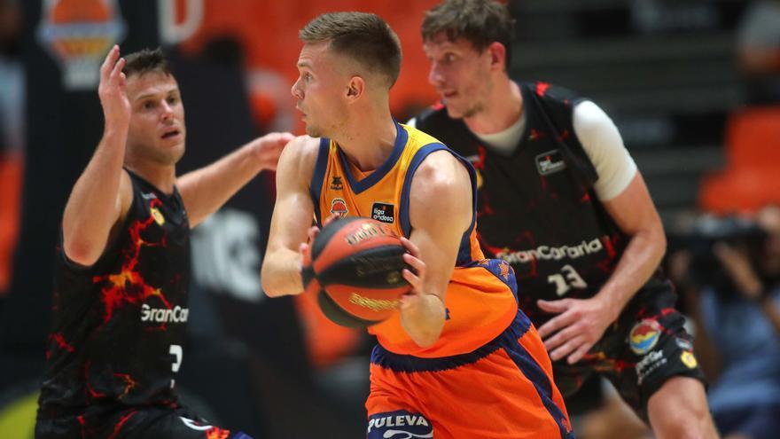 El Valencia Basket descarta fichajes pese a la plaga de lesiones