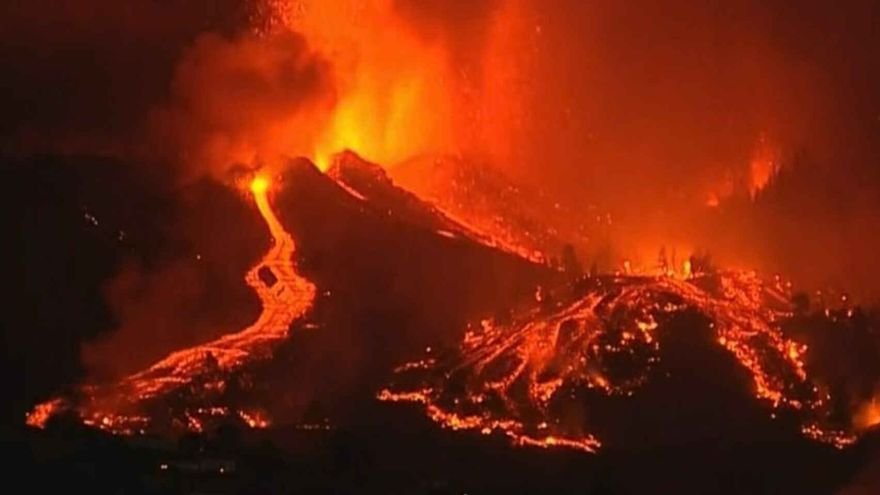 La Palma registra un terremoto de 4,8 grados, el de mayor magnitud desde el comienzo de la erupción