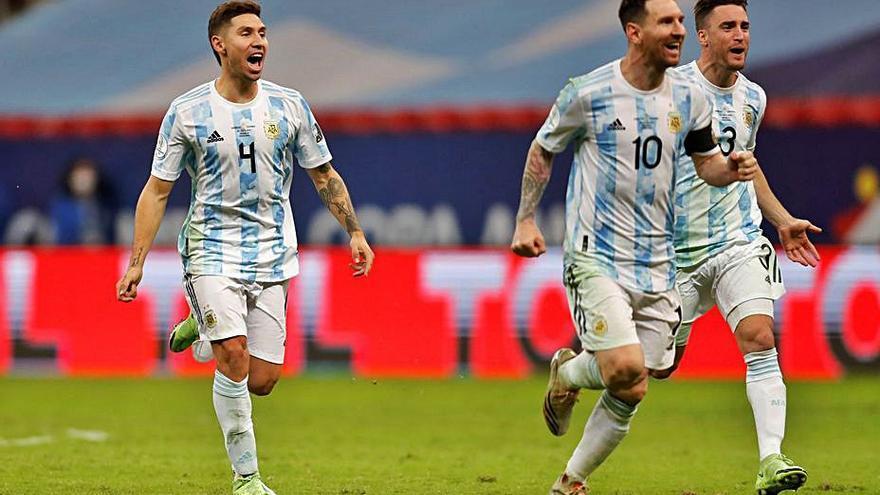 Argentina jugará la final ante Brasil