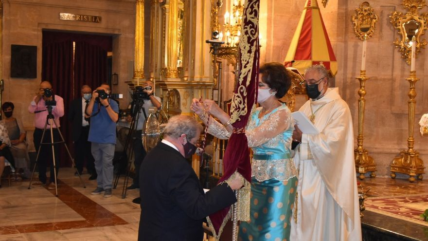 Luis Melgarejo Armada, nuevo Hermano Mayor de la Cofradía de la Vera Cruz de Caravaca