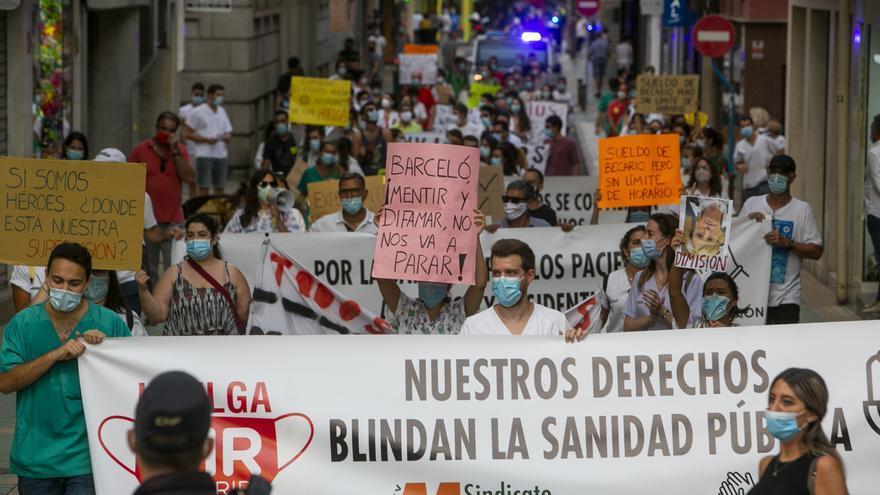 Los MIR reclaman a Puig que medie en el conflicto con Barceló tras 64 días de huelga