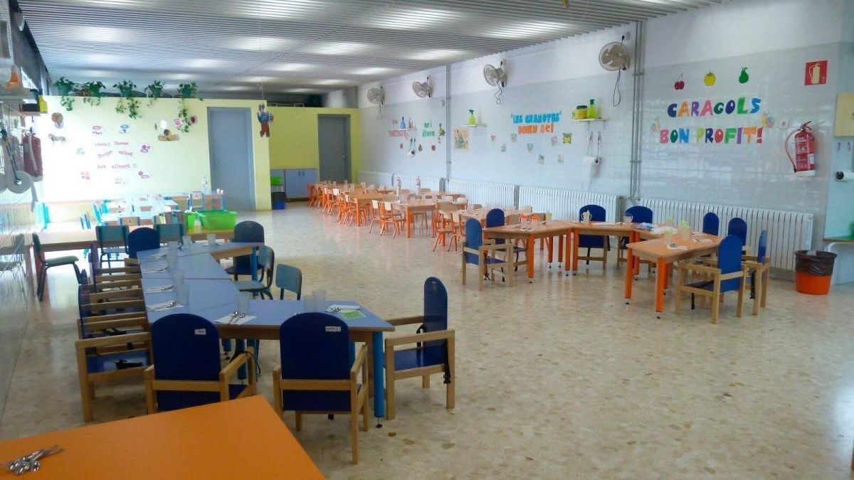 Aula de un centro escolar