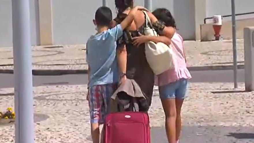 La madre de los niños secuestrados y buscados en Tenerife se reencuentra con sus hijos