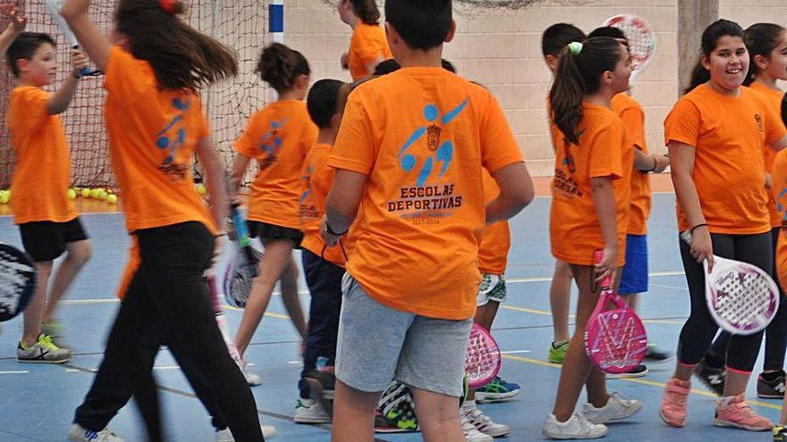 Soutomaior reduce plazas en sus escuelas deportivas para adaptarse a los protocolos
