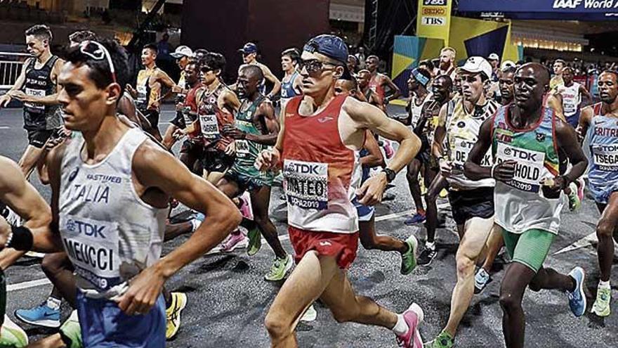 Mateo finaliza décimo en maratón y logra la preselección para Tokyo