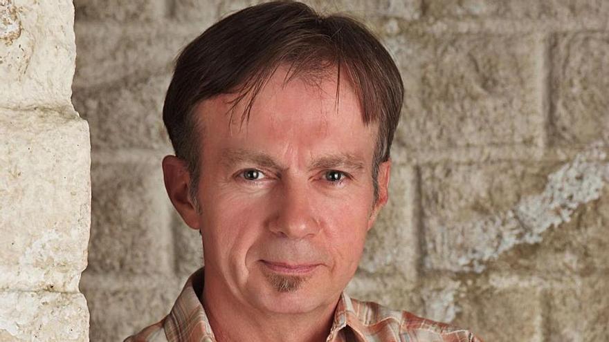 El escritor Donald  Ray Pollock.