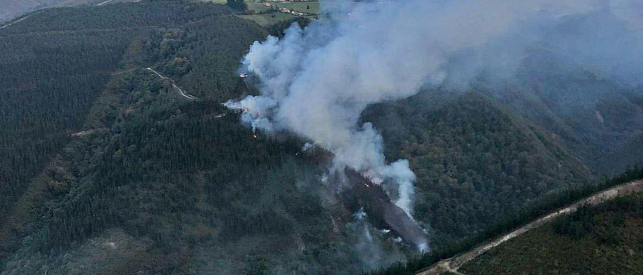 El incendio de Tabladiello.