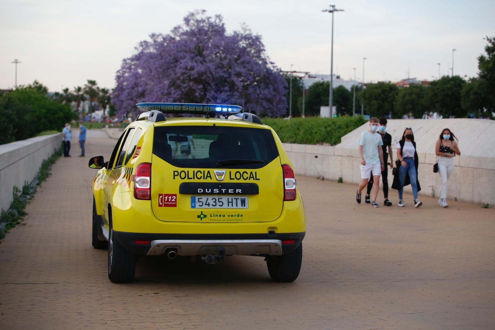 El Balcón del Guadalquivir bajo la vigilancia de la Policía Local