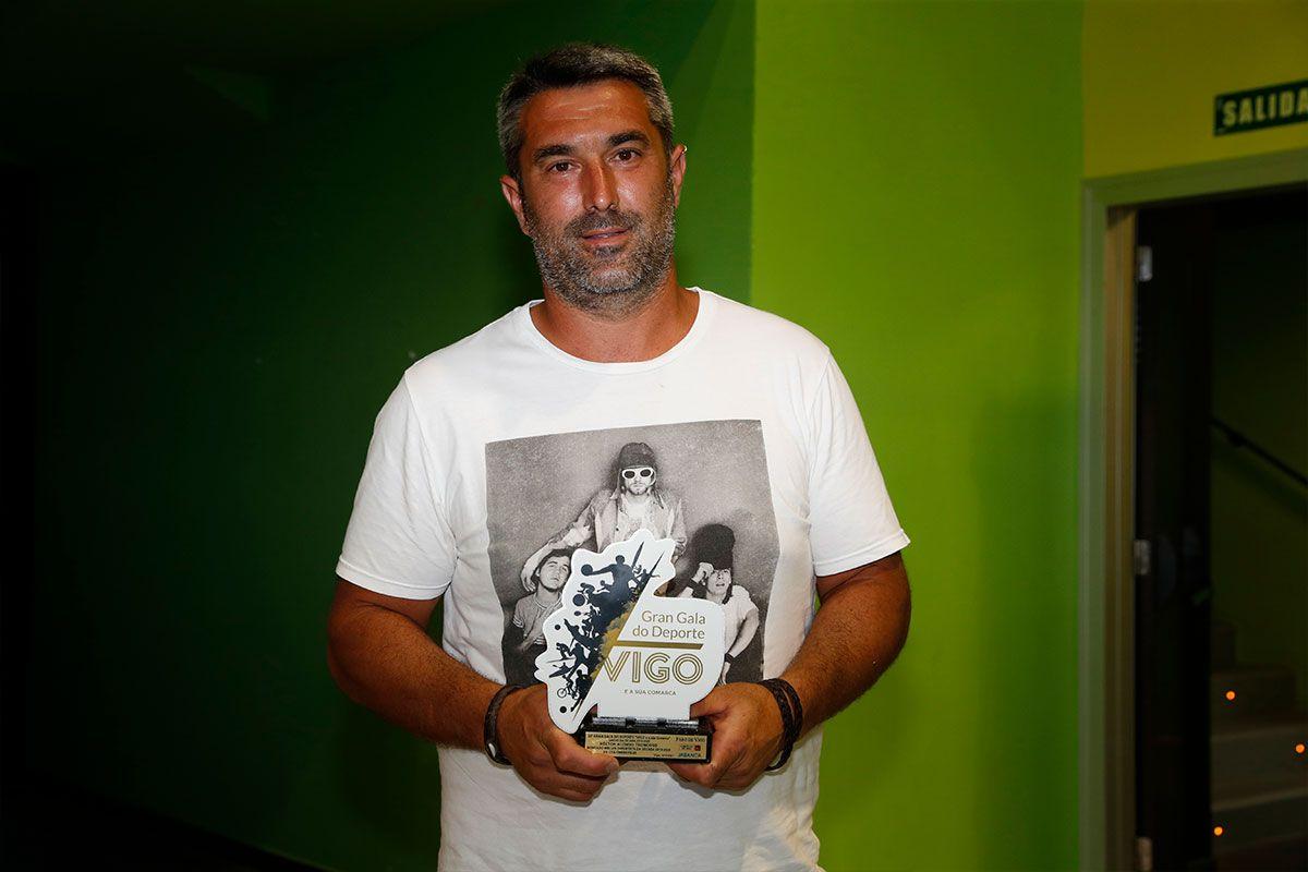 Héctor Alonso, ganador de colombofilia