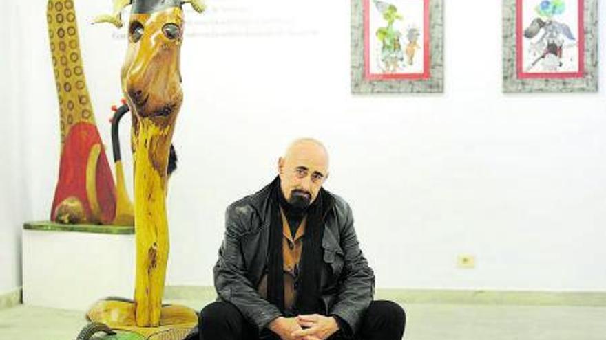 El escultor Paco Pestana fallece en Lugo a los 72 años a causa de un infarto