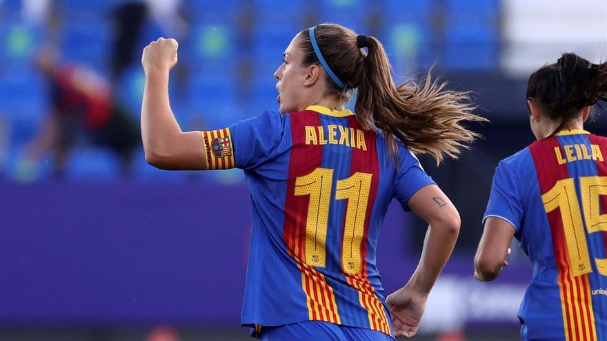 Alèxia Putellas, millor jugadora europea en un podi totalment blaugrana