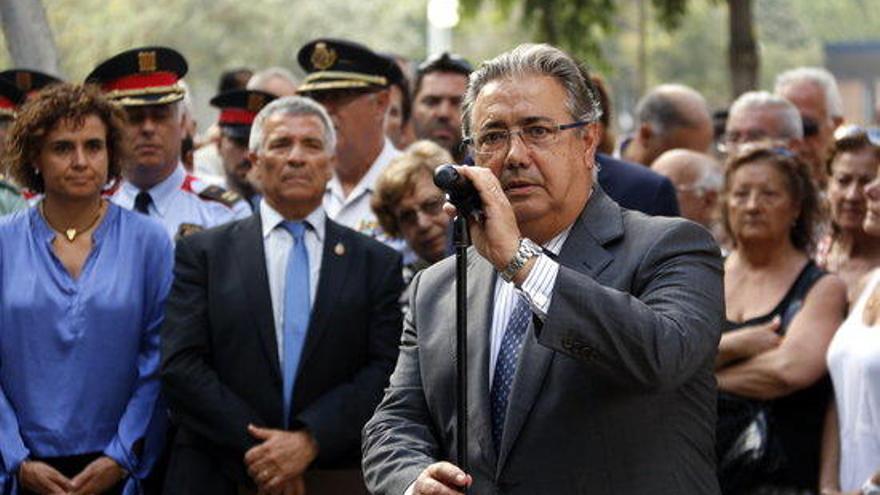 Zoido no assistirà a la Junta de Seguretat convocada per Puigdemont