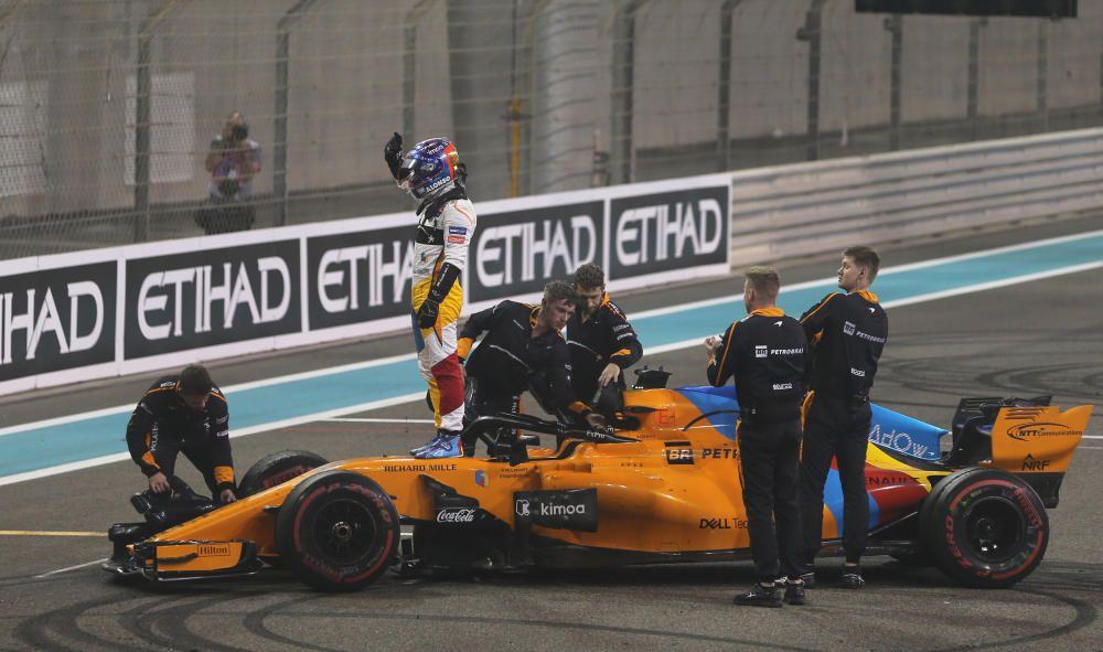 Despedida de Fernando Alonso de la Fórmula 1