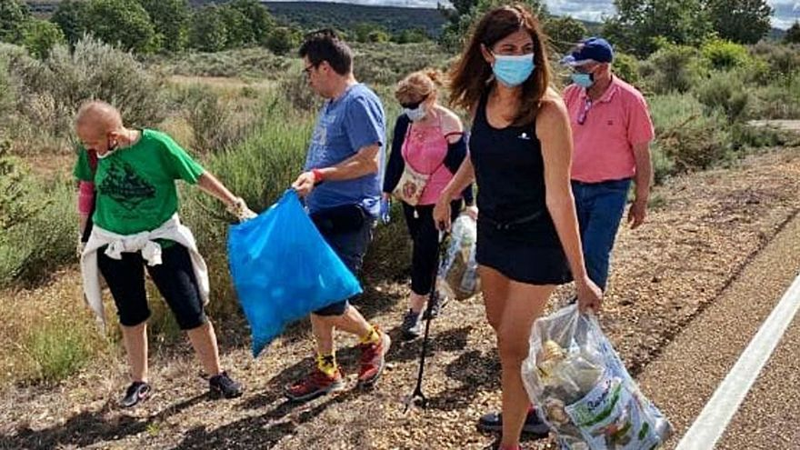 Vecinos de Villanueva de Valrojo, un ejemplo de conciencia ambiental