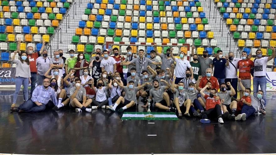 Los juveniles del Cajasur Balonmano estarán entre los ocho mejores de España