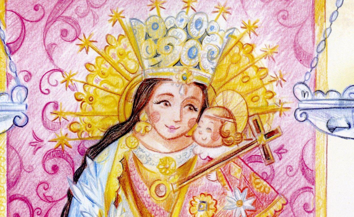 La Virgen de los Desamparados, versión Ceballos y Sanabria