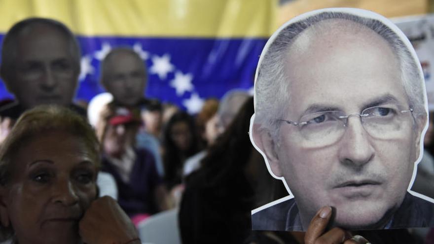 Maduro devuelve a Ledezma al arresto domiciliario