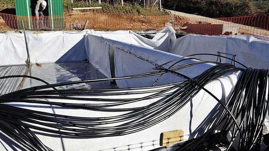 El Concello activa la depuradora de Zobra con solo seis casas conectadas a la red
