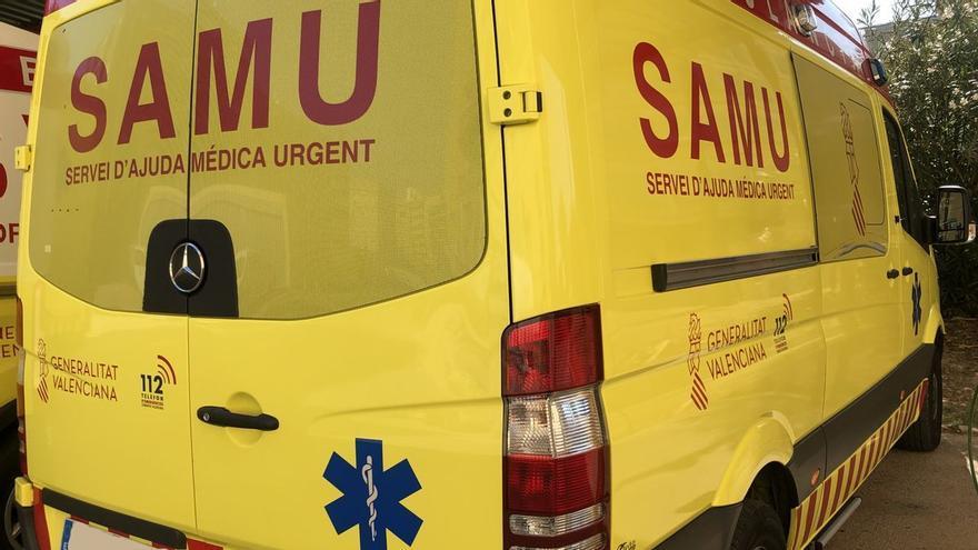 Herida grave una ciclista en un accidente con una furgoneta en Castelló