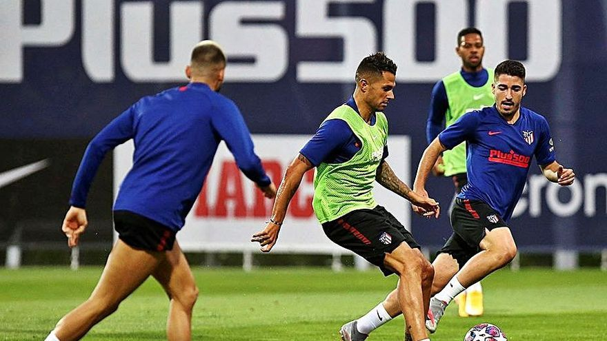 El Atlético, listo para un partido de alta intensidad