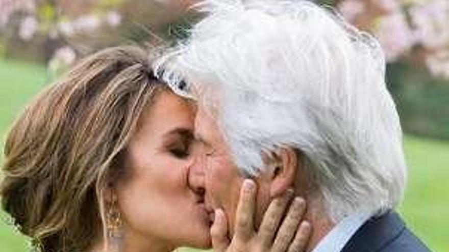 Alejandra Silva le declara todo su amor a Richard Gere en el aniversario de su boda