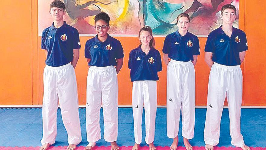 Cinco taekwondistas de Balears disputarán el Europeo de Tallin