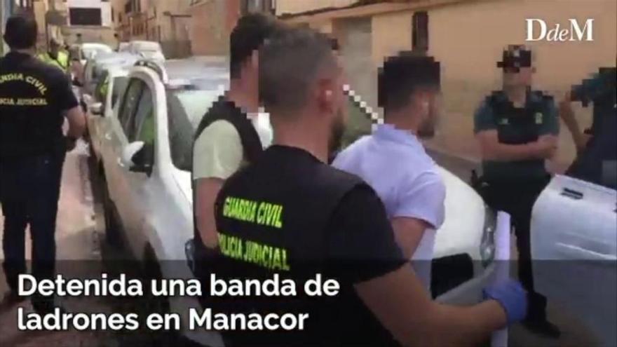 Polizei verhaftet Bande nach über 70 Raubüberfällen auf Mallorca