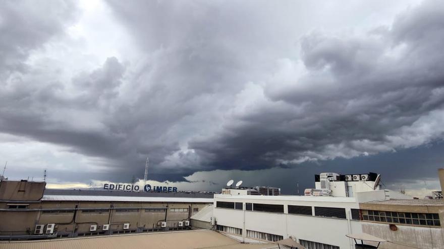Llegan las tormentas a la Comunitat Valenciana
