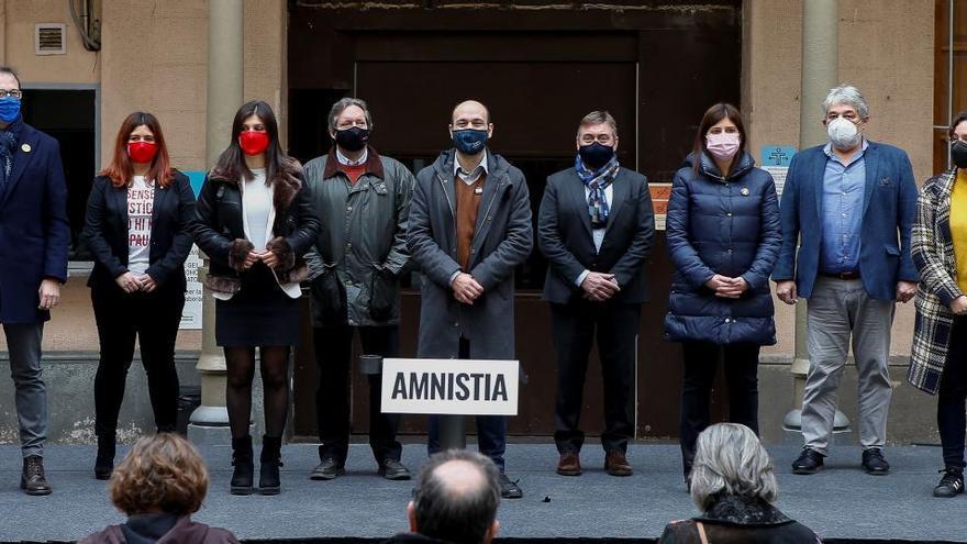 JxCat, ERC y la CUP registrarán en el Congreso una propuesta para la amnistía