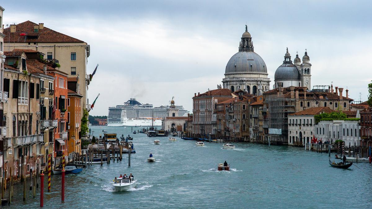 Una imagen de la ciudad de Venecia.