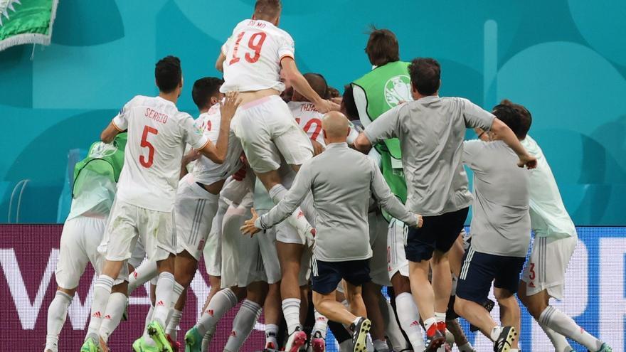 España rompe la maldición de los penaltis para llegar a semifinales