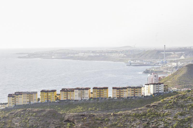 Continúa la calima en Gran Canaria (25/03/21)