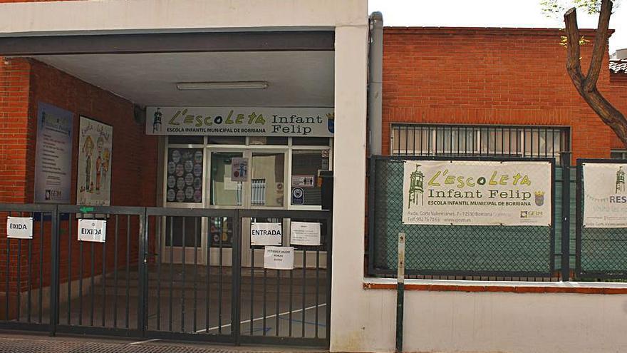 Burriana licita por 5.000 € al año la escuela infantil Príncipe Felipe
