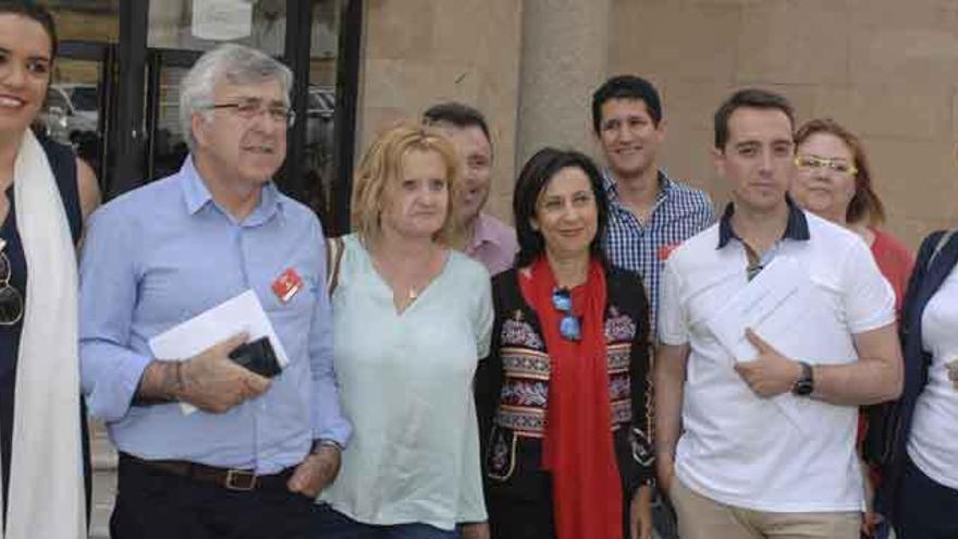 """Margarita Robles: """"Benavente debe tener partido judicial y más juzgados"""""""