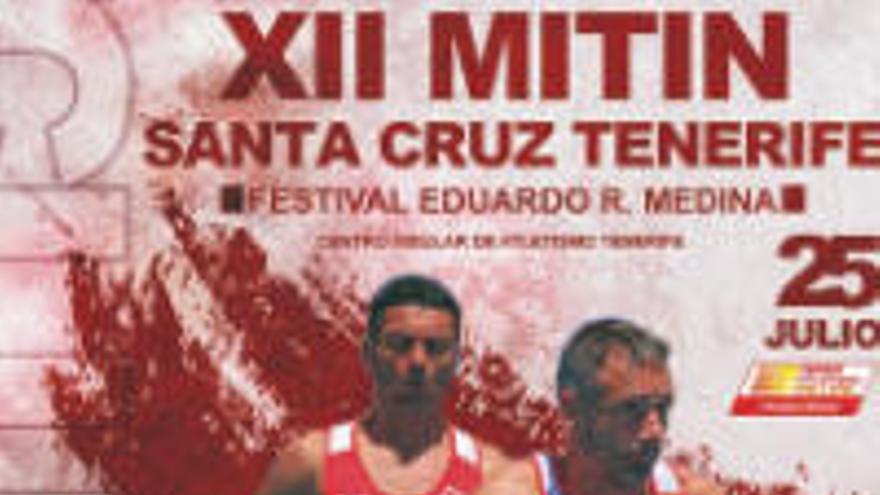 El XII Mitin de Santa Cruz reunirá a atletas procedentes de doce países