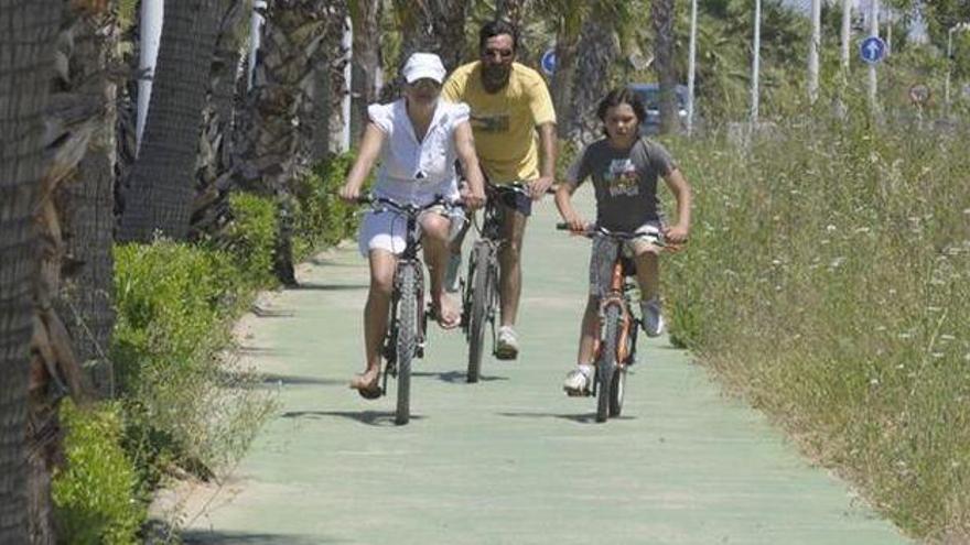 Nueva ruta ciclopeatonal en el Prat de Cabanes-Torreblanca