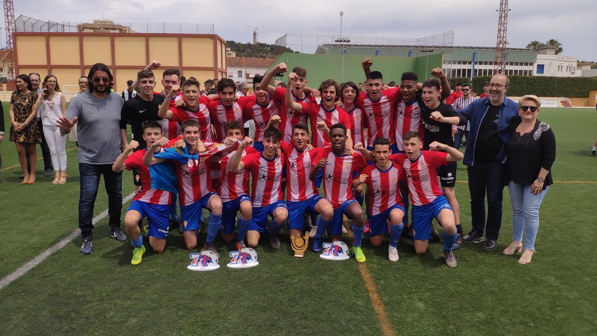 El Sporting de Gijón, campeón de la segunda edición.