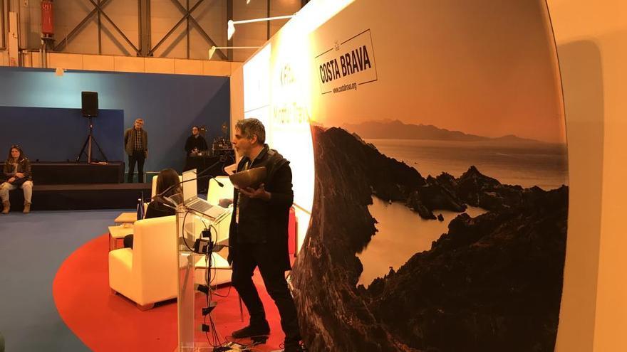 L'empordanès Edgar Tarrés promociona el turisme de benestar a Fitur