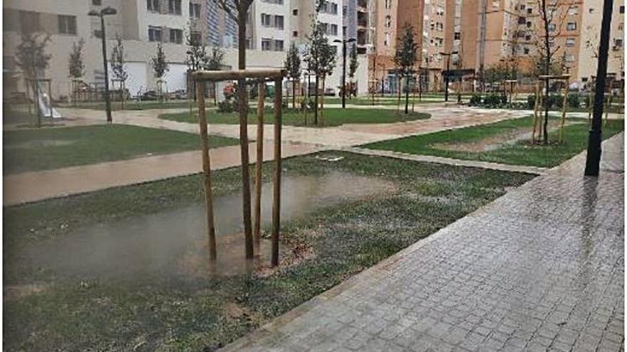 Nuevos sistemas de drenaje absorben el 60% del agua de lluvia y evitan las inundaciones