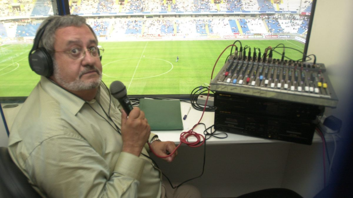 José Luis Naya, encargado de la megafonía en el estadio de Riazor.