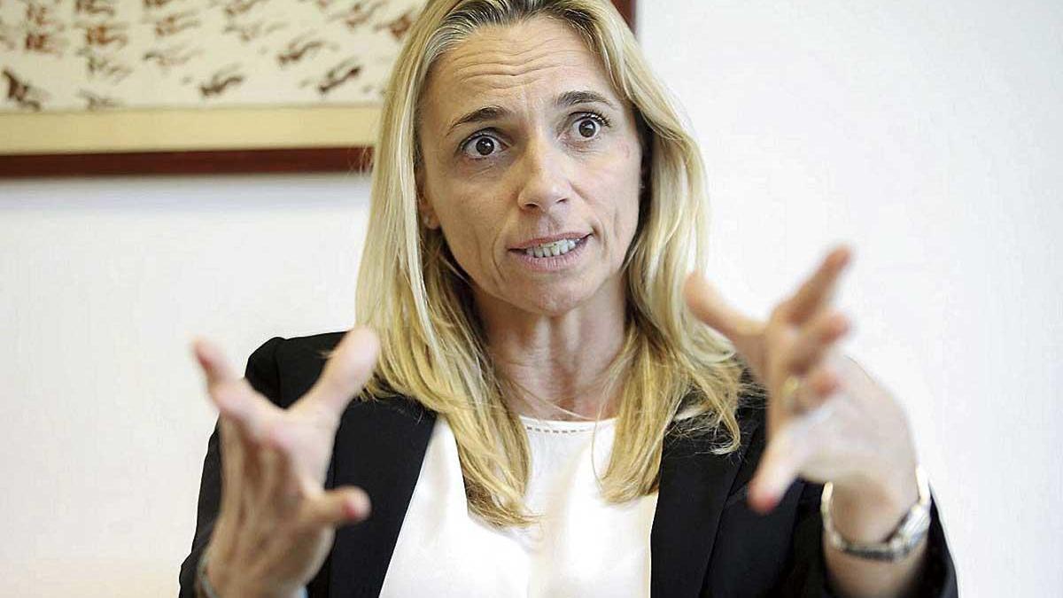 María Frontera, presidenta de la Federación Empresarial Hotelera de Mallorca.