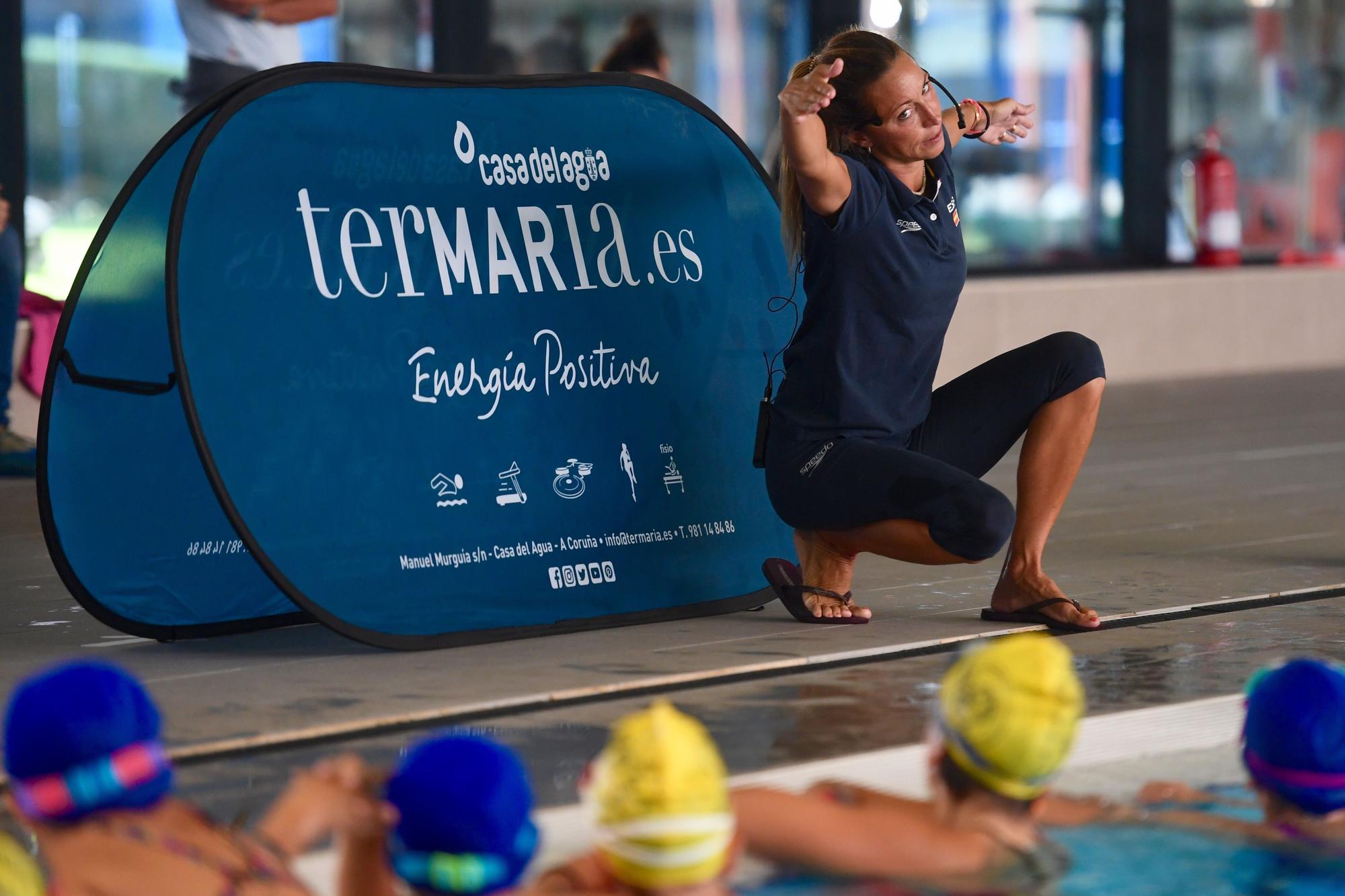 Clase de Gemma Mengual para los niños de Termaria A Coruña