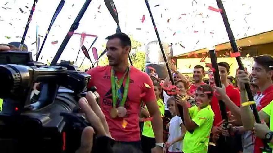 Lleida homenajea a Craviotto