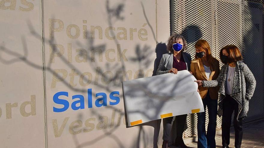 Cartagena honra a Margarita Salas