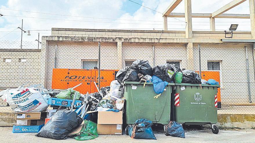 Campaña de concienciación en Felanitx para evitar los residuos voluminosos